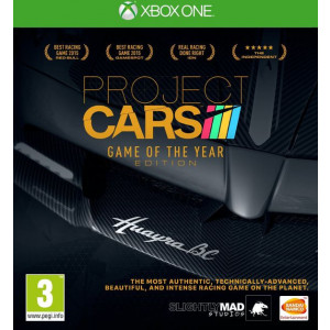 Project Cars Game of the Year xbox