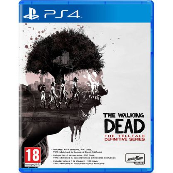 The Walking Dead Definitive Series ps4