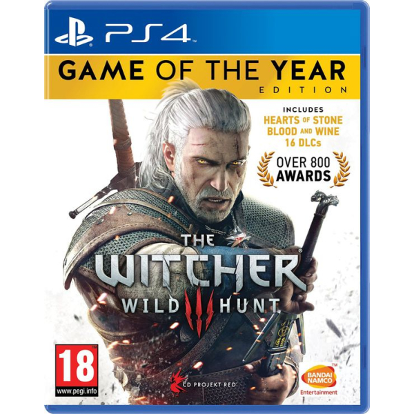The Witcher III 3 Wild Hunt Game of The Year Edition playstation 4