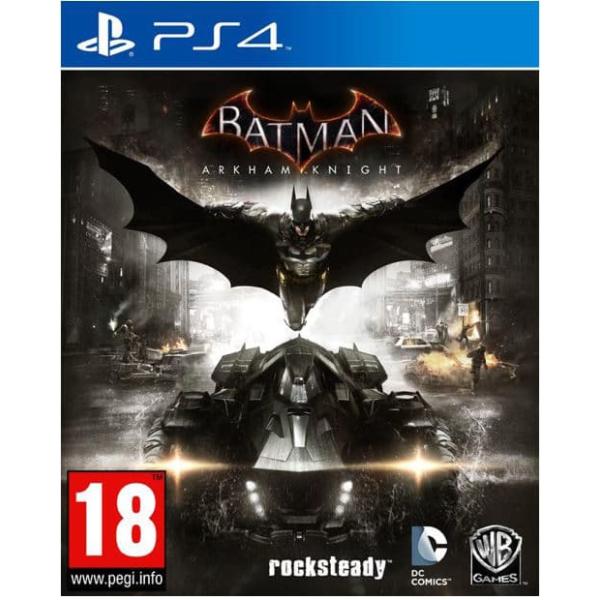 batman arkham ps4