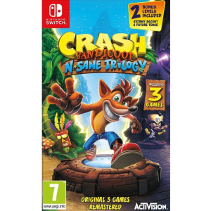 crash bandicoot nsane trilogy switch
