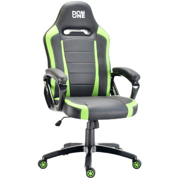don one belmonte gaming chair black green