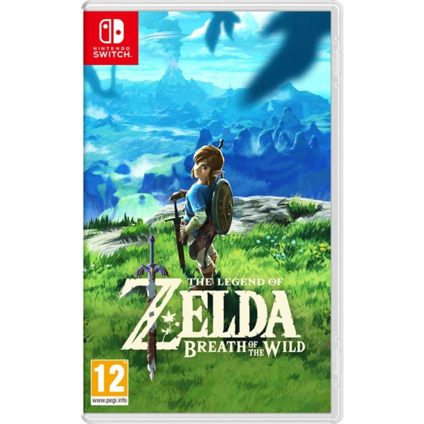 legend of zelda breath of wild nintendo switch