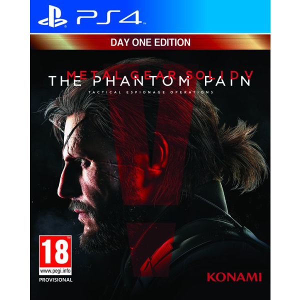 metal gear solid v 5 phantom pain day one edition