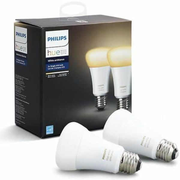 philips hue e27 2 pack white ambiance new bluetooth edition