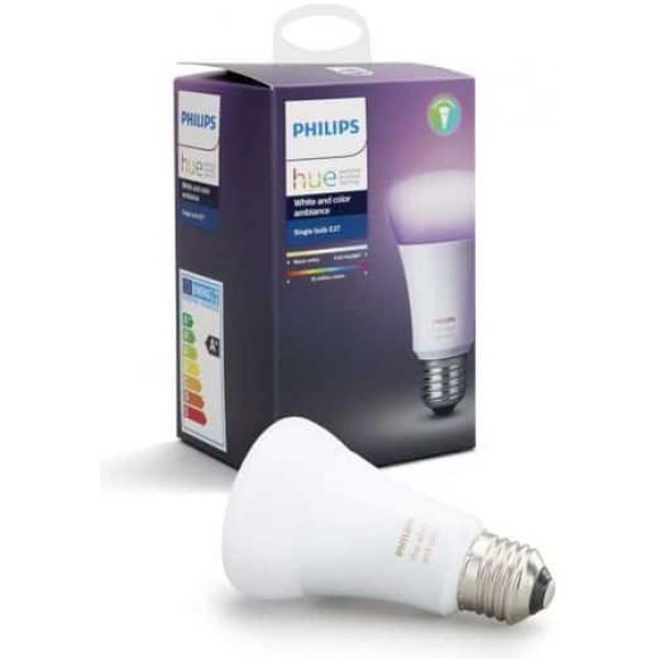 philips hue e27 bt single bulb white color ambiance new bluetooth edition