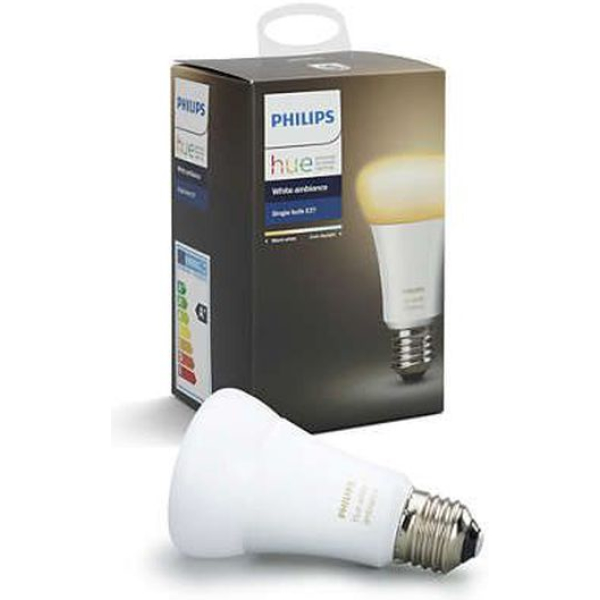 philips hue e27 single bulb white ambience new bluetooth edition