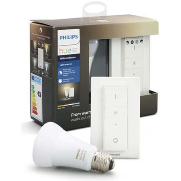 philips hue e27 wireless dimming kit white ambiance new bluetooth edition