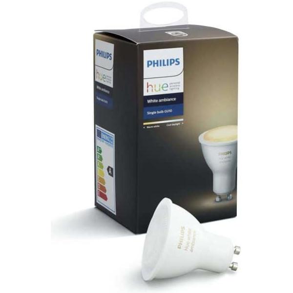 philips hue gu10 single paere white ambiance new bluetooth edition