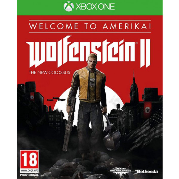 wolfenstein 2 new colossus limited edition welcome to amerika