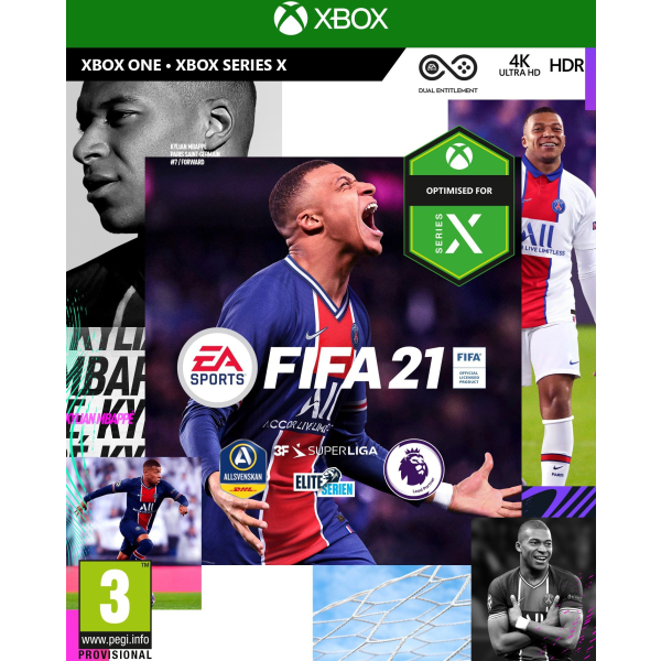 fifa 21 nordic includes xbox series x version
