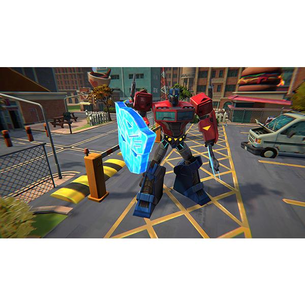 Transformers Battlegrounds gameplay
