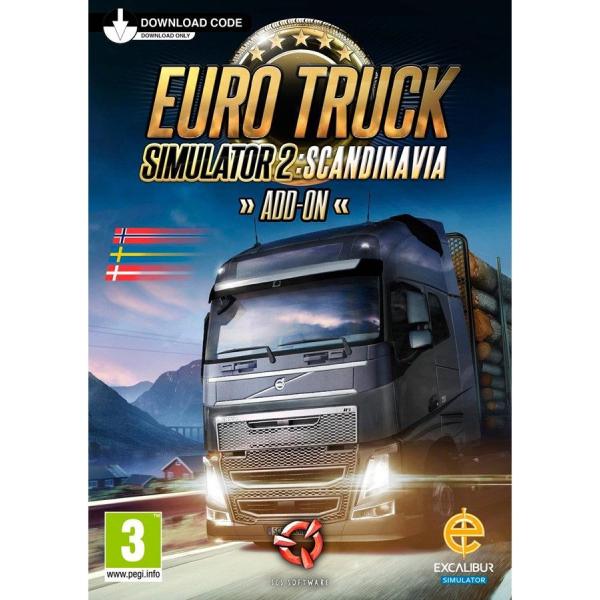 euro truck simulator 2 scandinavia pc